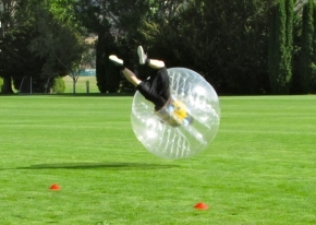 funinqueenstown activitybubblesoccer airtime slideshow7